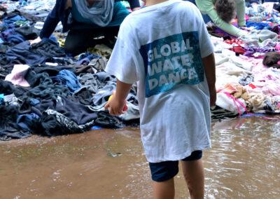 Wereldwijd dansen voor zuiver water